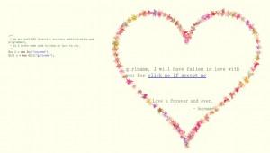 《程序员爱情表白专用html5动画网页的代码》