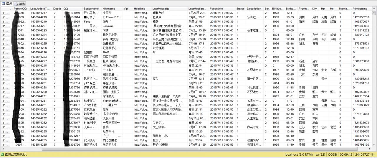 """《[转]我从腾讯那""""偷了""""3000万QQ用户数据,出了份很有趣的独家报告!》"""