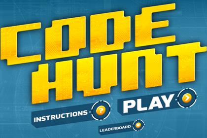 《微软研究院正式发布编程学习游戏Code Hunt》