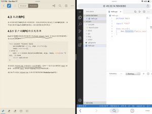 《iPad编程学习环境---vscode web版本搭建》